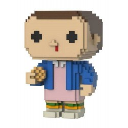 Funko POP! 16 8-Bit Stranger Things Eleven [with Eggos]  Exclusive 9cm FUNKO - 1