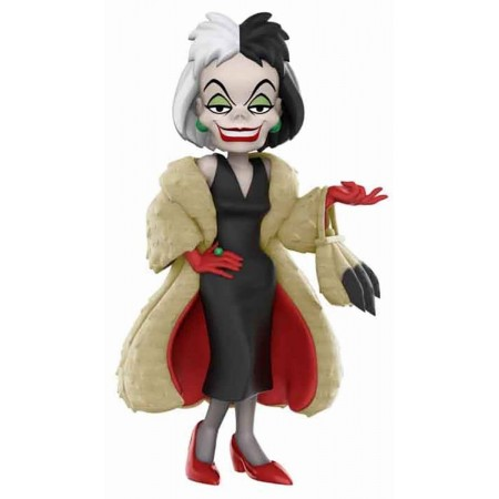 Funko Rock Candy!  Disney Cruella De Vil (Flocked Coat) 12cm Exclusive FUNKO - 1