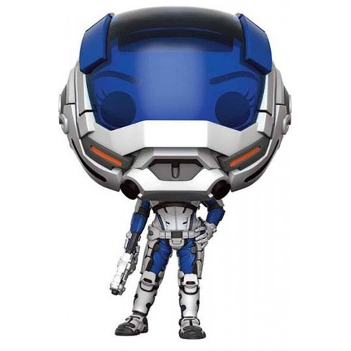 Funko POP! 186  Games Mass Effect Sarah Ryder (Masked) 9cm Exclusive FUNKO - 1