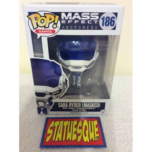Funko POP! 186  Games Mass Effect Sarah Ryder (Masked) 9cm Exclusive FUNKO - 2