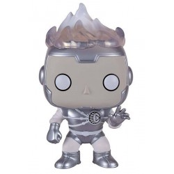 Funko POP! 91 Heroes DC Comics (White Lantern) Firestorm 9 cm Exclusive FUNKO - 1