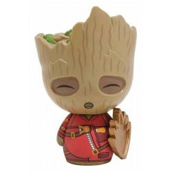 Funko DORBZ! 291 Marvel Guardians 2 Young Groot with Shield 8 cm Exclusive FUNKO - 1