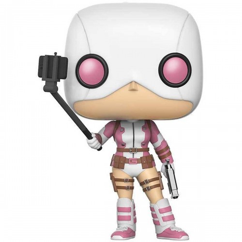 Funko POP! 232 Marvel Selfie Gwenpool 9 cm Exclusive FUNKO - 1