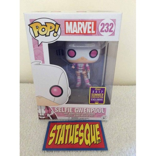 Funko POP! 232 Marvel Selfie Gwenpool 9 cm Exclusive FUNKO - 2