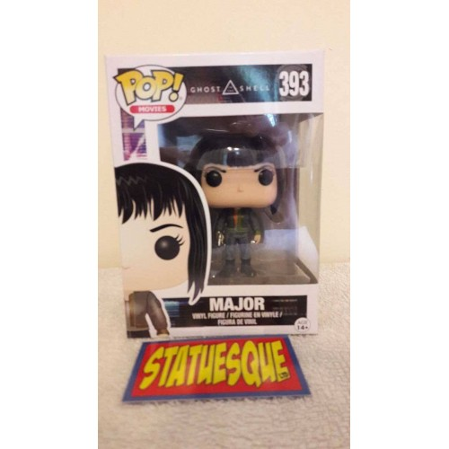 Funko POP! 393 Movies Ghost in the Shell Major (Black Jacket) 9 cm Exclusive FUNKO - 2