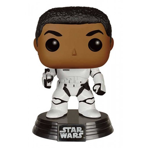 Funko POP! 76 Star Wars (Stormtrooper) Finn With Blaster 9 cm Exclusive FUNKO - 1