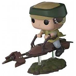 Funko POP! 228 Star Wars Leia with speeder bike 10cm FUNKO - 1