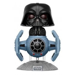 Funko POP! 176  Star Wars Darth Vader with Tie Fighter 10cm Exclusive FUNKO - 1