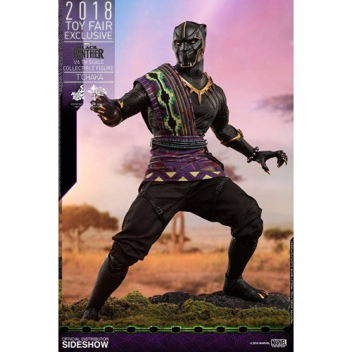 Hot Toys Black Panther Action Figure 1/6 T'Chaka 2018 Toy Fair Exclusive 31 cm HOT TOYS - 1