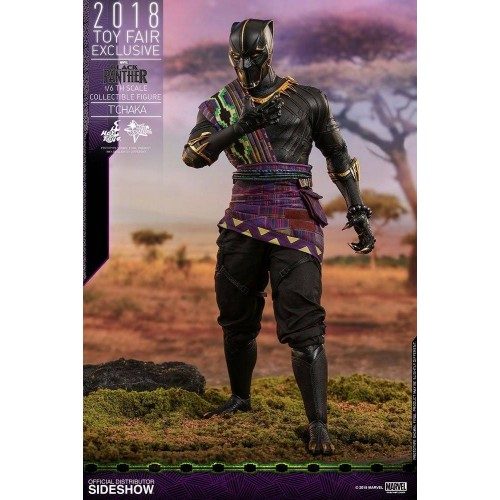 Hot Toys Black Panther Action Figure 1/6 T'Chaka 2018 Toy Fair Exclusive 31 cm HOT TOYS - 2