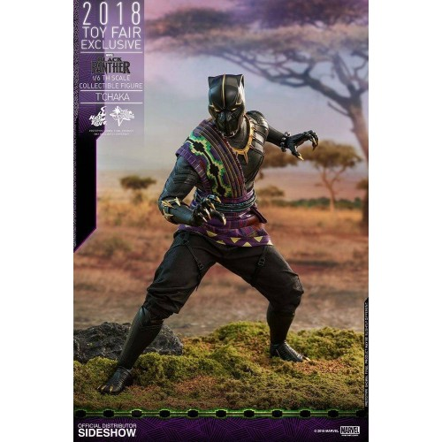 Hot Toys Black Panther Action Figure 1/6 T'Chaka 2018 Toy Fair Exclusive 31 cm HOT TOYS - 3