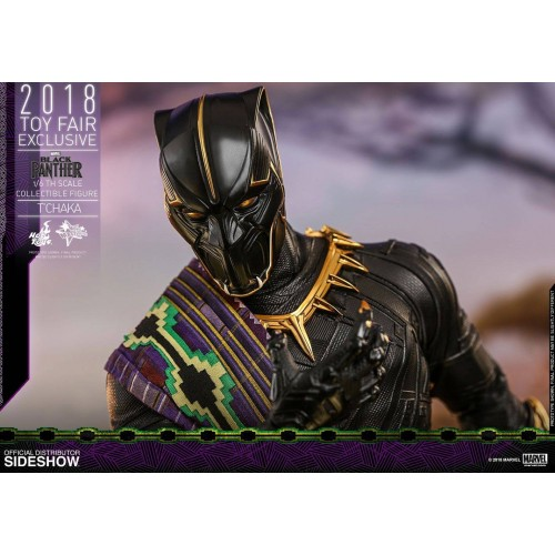 Hot Toys Black Panther Action Figure 1/6 T'Chaka 2018 Toy Fair Exclusive 31 cm HOT TOYS - 8