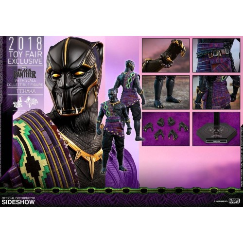 Hot Toys Black Panther Action Figure 1/6 T'Chaka 2018 Toy Fair Exclusive 31 cm HOT TOYS - 11