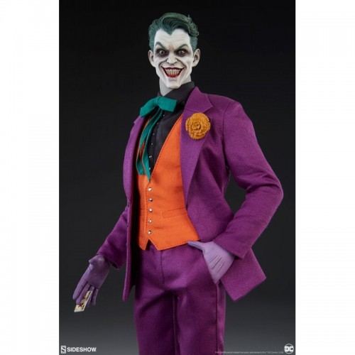 DC Comics Action Figure 1/6 The Joker Sideshow Collectibles - 2