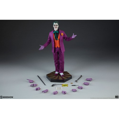 DC Comics Action Figure 1/6 The Joker by Sideshow Collectibles SIDESHOW COLLECTIBLES - 6
