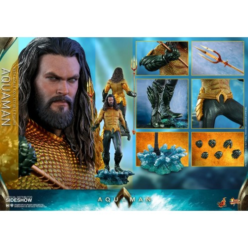 Aquaman Movie Action Figure 1/6 Aquaman 33 cm Hot Toys - 12