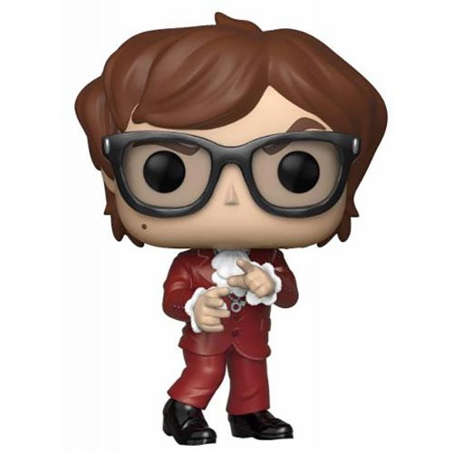 POP! Movies Austin Powers Red Suit GameStop Exclusive 9 cm by Funko FUNKO - 1