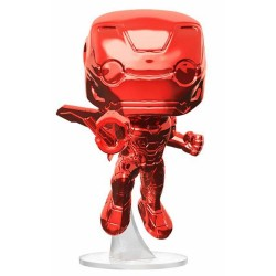 POP! Movies Infinity War Iron Man Red Chrome Target Exclusive 9cm by Funko FUNKO - 1
