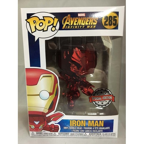 POP! Movies Infinity War Iron Man Red Chrome Target Exclusive 9cm by Funko FUNKO - 2