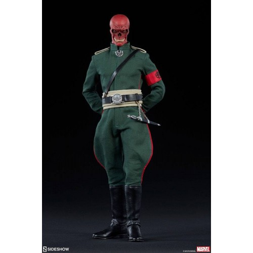 Marvel Action Figure 1/6 Red Skull 30 cm Sideshow Collectibles - 3