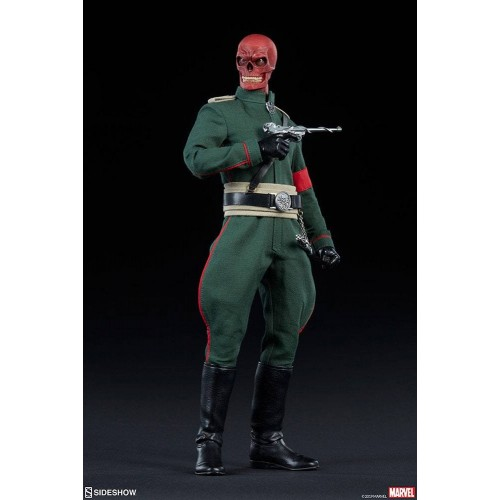 Marvel Action Figure 1/6 Red Skull 30 cm Sideshow Collectibles - 4