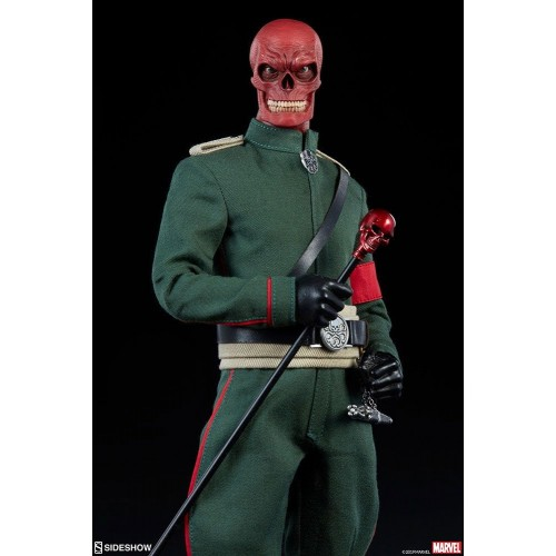 Marvel Action Figure 1/6 Red Skull 30 cm Sideshow Collectibles - 7