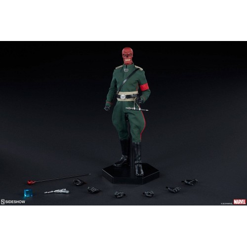 Marvel Action Figure 1/6 Red Skull 30 cm Sideshow Collectibles - 9