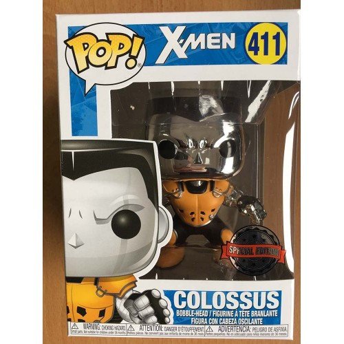 Marvel POP! 411 Colossus (Chrome X-Force) Exclusive 9 cm FUNKO - 2