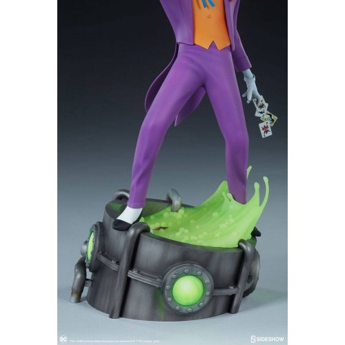 Batman The Animated Series Statue The Joker 43 cm Sideshow Collectibles - 6