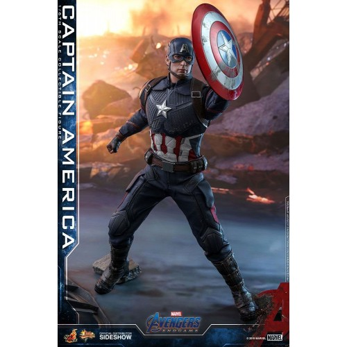 Avengers: Endgame Action Figure 1/6 Captain America 31 cm Hot Toys - 2