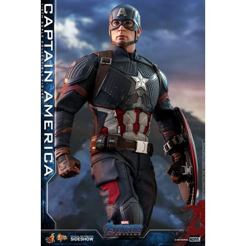 Avengers: Endgame Action Figure 1/6 Captain America 31 cm Hot Toys - 3