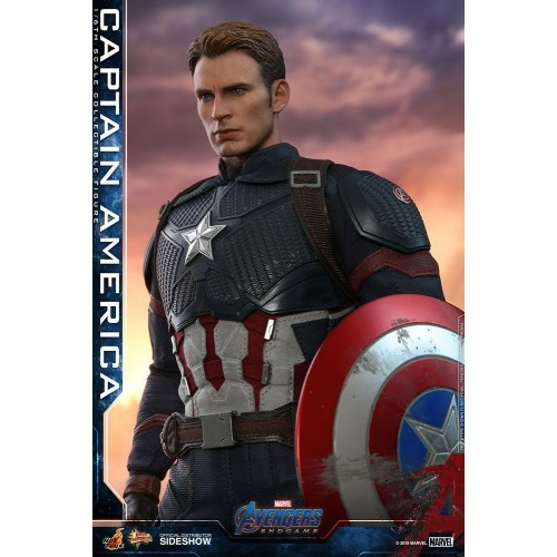 Avengers: Endgame Action Figure 1/6 Captain America 31 cm Hot Toys - 5