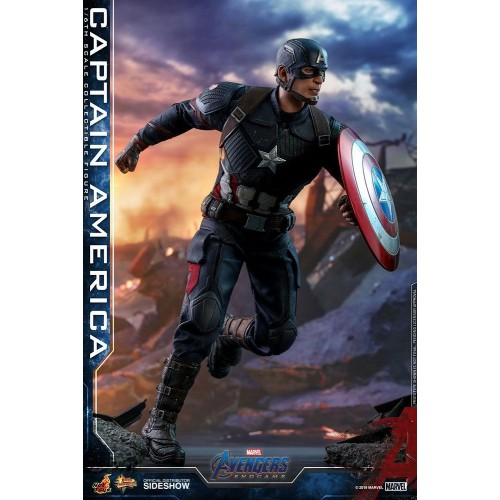Avengers: Endgame Action Figure 1/6 Captain America 31 cm Hot Toys - 6