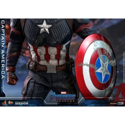Avengers: Endgame Action Figure 1/6 Captain America 31 cm Hot Toys - 9