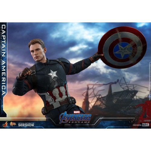 Avengers: Endgame Action Figure 1/6 Captain America 31 cm Hot Toys - 10