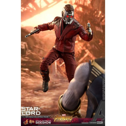 Avengers: Infinity War Action Figure 1/6 Star-Lord 31 cm Hot Toys - 3
