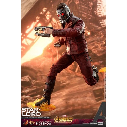 Avengers: Infinity War Action Figure 1/6 Star-Lord 31 cm Hot Toys - 6