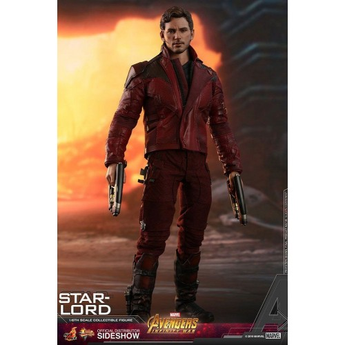 Avengers: Infinity War Action Figure 1/6 Star-Lord 31 cm Hot Toys - 7