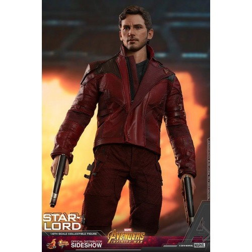 Avengers: Infinity War Action Figure 1/6 Star-Lord 31 cm Hot Toys - 8
