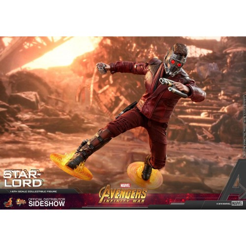 Avengers: Infinity War Action Figure 1/6 Star-Lord 31 cm Hot Toys - 9