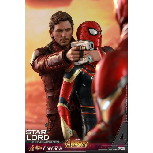 Avengers: Infinity War Action Figure 1/6 Star-Lord 31 cm Hot Toys - 10