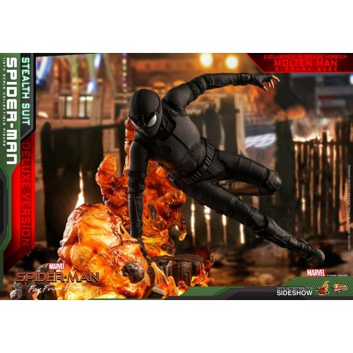 Spider-Man: Far From Home MM Action Figure 1/6 Spider-Man (Stealth Suit) Dlx Ver. 29 cm HOT TOYS - 6