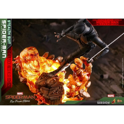 Spider-Man: Far From Home MM Action Figure 1/6 Spider-Man (Stealth Suit) Dlx Ver. 29 cm HOT TOYS - 7