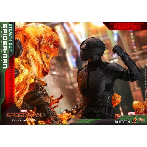 Spider-Man: Far From Home MM Action Figure 1/6 Spider-Man (Stealth Suit) Dlx Ver. 29 cm HOT TOYS - 8