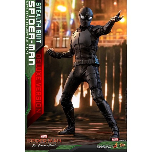 Spider-Man: Far From Home MM Action Figure 1/6 Spider-Man (Stealth Suit) Dlx Ver. 29 cm HOT TOYS - 10