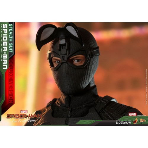 Spider-Man: Far From Home MM Action Figure 1/6 Spider-Man (Stealth Suit) Dlx Ver. 29 cm HOT TOYS - 11