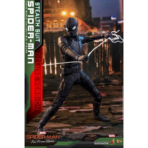 Spider-Man: Far From Home MM Action Figure 1/6 Spider-Man (Stealth Suit) Dlx Ver. 29 cm HOT TOYS - 12