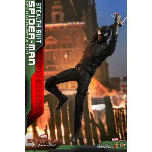 Spider-Man: Far From Home MM Action Figure 1/6 Spider-Man (Stealth Suit) Dlx Ver. 29 cm HOT TOYS - 13