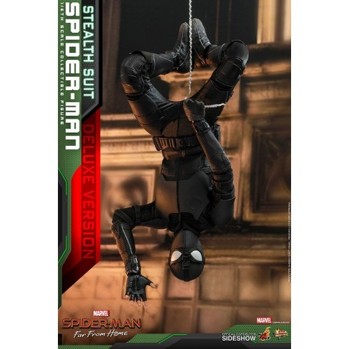 Spider-Man: Far From Home MM Action Figure 1/6 Spider-Man (Stealth Suit) Dlx Ver. 29 cm HOT TOYS - 14