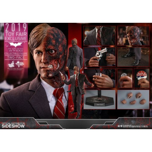 The Dark Knight Action Figure 1/6 Two-Face 2019 Toy Fair Exclusive 31 cm Hot Toys - 10